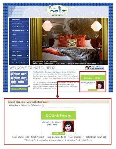 Hotel Helix ECoupon