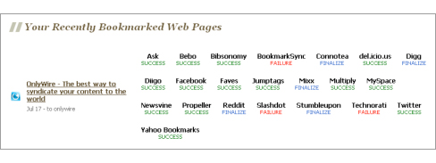 Recently Bookmarked
