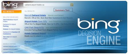 Bing Decision Engine