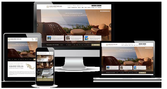 Hotel Responsive Website & Mobile Design