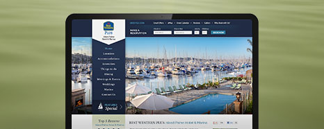 Milestone Internet Marketing - Best Western Hotel Websites Design Portfolio
