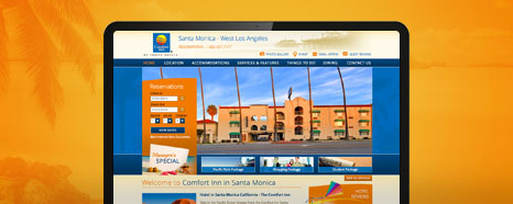 Milestone Internet Marketing - Choice Hotel Websites Design Portfolio