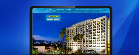 Milestone Internet Marketing - IHG Hotel Web Websites Design Portfolio