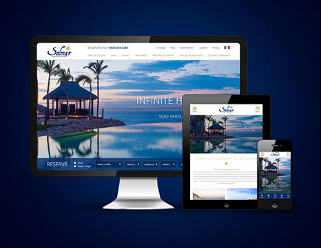 Milestone Internet Marketing - Luxury Hotel Websites Design Portfolio