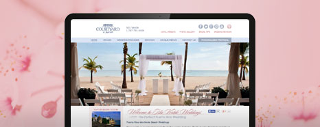 Milestone Internet Marketing - Marriott Hotel Websites Design Portfolio
