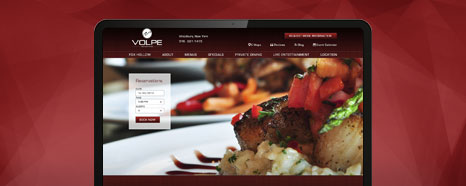 Milestone Internet Marketing - Restaurant and Club Websites Design Portfolio