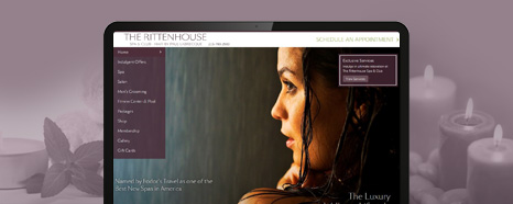 Milestone Internet Marketing - Spa Websites Design Portfolio
