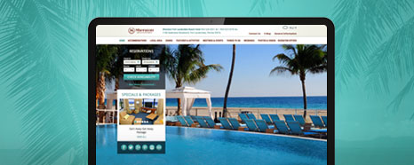 Milestone Internet Marketing - Starwood Hotel Websites Design Portfolio