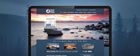 Milestone Internet Marketing - Vacation Rentals Websites Design Portfolio