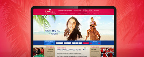Milestone Internet Marketing - Wyndham Hotel Websites Design Portfolio
