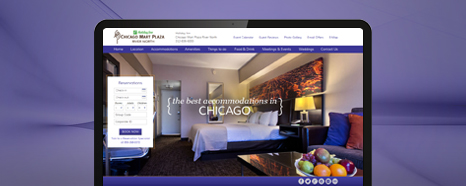 Responsive Hotel Web Design and Search Engine Optimization Case Study