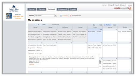 Social Media Calendar for Hotels and Businesses