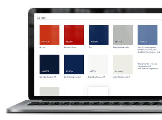 Use Brand Colors in Milestone Inc.