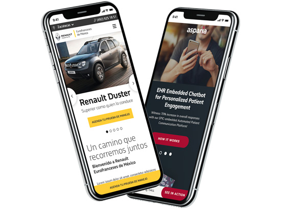 Milestone Mobile First Design