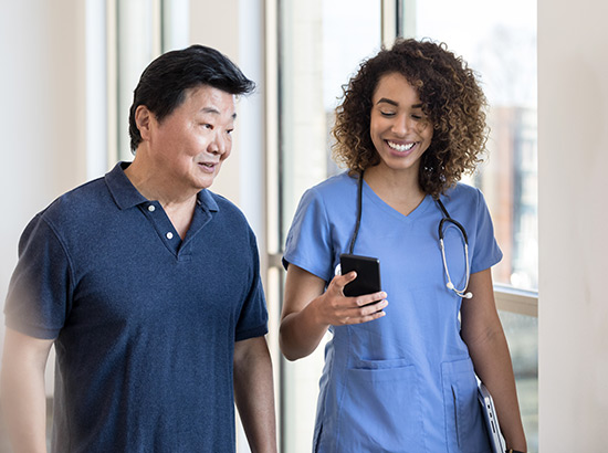Mobile-first websites for Healthcare