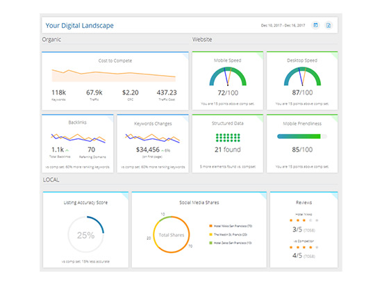 Competition with Analytics and Competitive Insights
