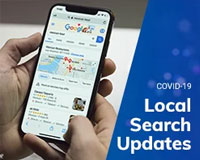Local Search New Features Related to COVID-19