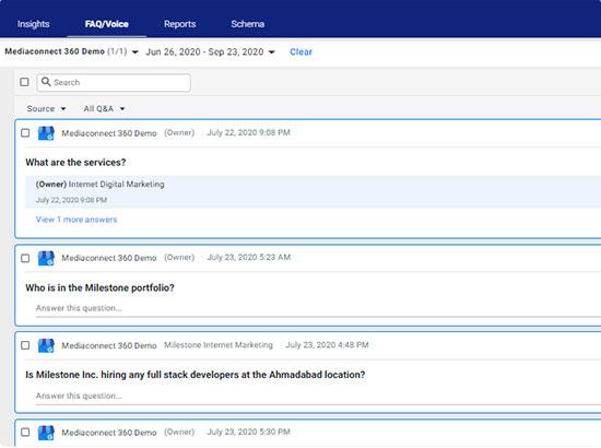 Milestone FAQ Manager