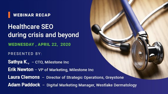 Healthcare SEO during crisis and beyond