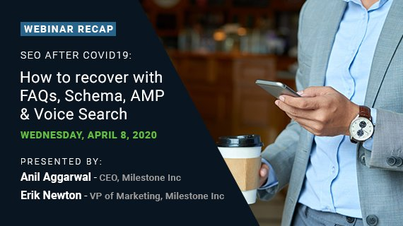 SEO After COVID-19: FAQs, Schema, AMP & Voice Search