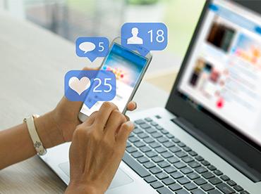 Social media advertising