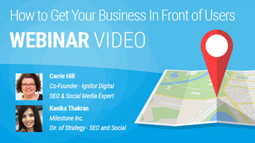 Webinar Video - Business In Front of Users